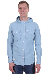 Ragwear Nuke Two Hemd mit Kapuze  (blue chamray)