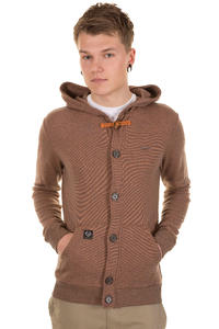 Ragwear Omega Jacke (dark caramel stripes)