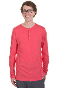 Iriedaily Henley Longsleeve (red melange)