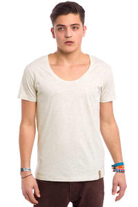 Iriedaily Subneck T-Shirt (ecru melange)