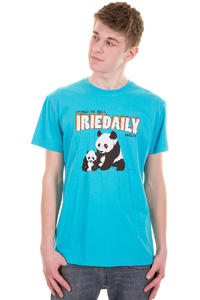 Iriedaily Stoned Panda T-Shirt (hawaii blue)