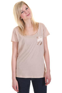 Iriedaily Shake T-Shirt girls (sand melange)