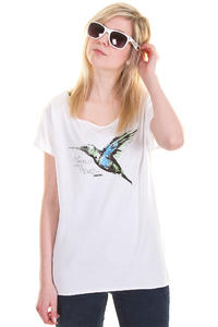 Iriedaily Fine Feathers T-Shirt girls (white)
