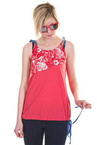 Iriedaily Hawaii Up Top girls (red melange)