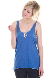 Iriedaily Edgy Tank-Top girls (blue melange)