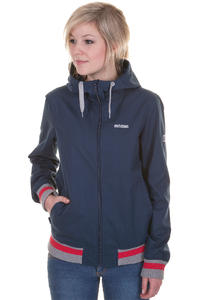Mazine Dogella Jacket girls (navy mid grey melange)