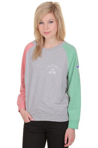 Mazine Oneida 2 Longsleeve girls (red grizzle light grey)