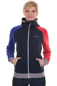 Mazine Smileyon Zip-Hoodie girls (navy poppy)