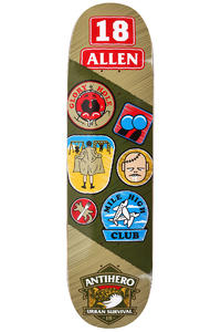 "Anti Hero Allen Demerit 8.25"" Deck (multi)"