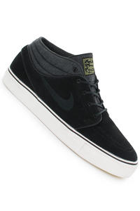 Nike Zoom Stefan Janoski Mid Schuh (black black electric yellow)