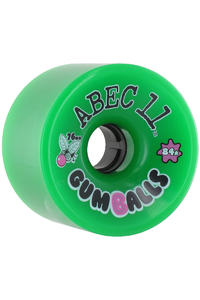 ABEC 11 Gumballs 76mm 84a Wheel 4er Pack  (green)