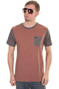 RVCA Changed Up T-Shirt (henna heather)