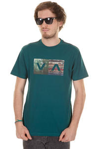 RVCA The Woods T-Shirt (dirty teal)