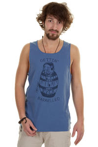 RVCA Gettin Barrelled Tank-Top (royal blue)