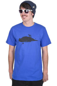 Atticus Smudge T-Shirt (royal)