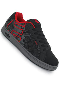 Etnies Metal Mulisha Fader Schuh (black grey red)