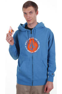 Volcom Banner Zip-Hoodie (blue)