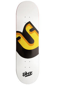 "Über Skateboards Surprise 8.5"" Deck (white)"