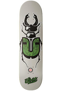 "Über Skateboards Bug 7.75"" Deck (grey green)"