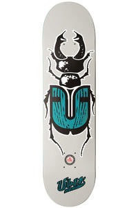 "Über Skateboards Bug 7.875"" Deck (grey turquoise)"