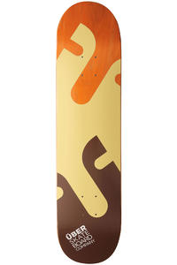 "Über Skateboards Puzzle 7.875"" Deck"