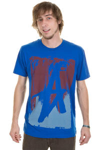 Altamont Smeared T-Shirt (royal)