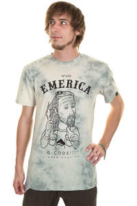 Emerica Herman HQ420 Washed T-Shirt (dirty white)