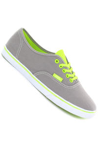 Vans Authentic Lo Pro Shoe girls (neon grey yellow)