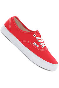 Vans Authentic Slim Schuh girls (fiery red true white)