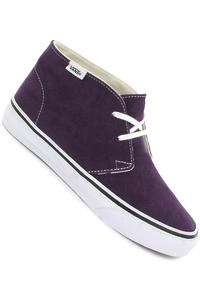 Vans Chukka Slim Suede Shoe girls (sweet grape true white)