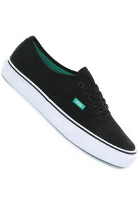 Vans Authentic Shoe (pop black aqua)