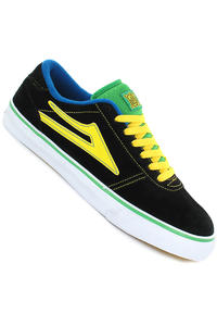 Lakai Manchester Select Suede Schuh (black green)