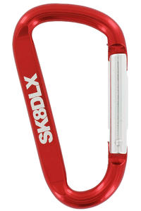 SK8DLX Hook Key-Chain (red)