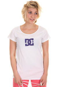 DC Star New T-Shirt girls (optic white)