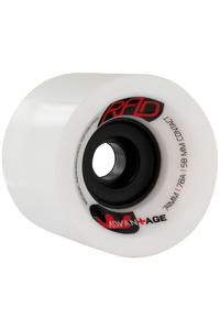 R.A.D. Advantage 74mm 78a Rollen 4er Pack  (white)