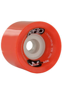 R.A.D. Advantage 74mm 80a Rollen 4er Pack  (red)