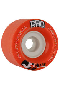 R.A.D. Release 72mm 80a Rollen 4er Pack  (red)