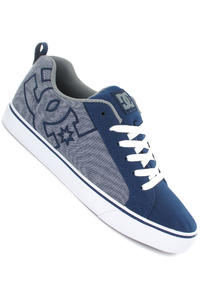 DC Court Vulc TX Shoe (navy light grey)