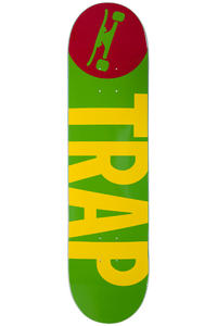 Trap Skateboards Big Logo 7.875&quot; Deck (blue)