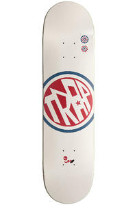 Trap Skateboards Circle 7.75&quot; Deck (white)