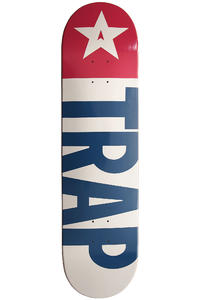 "Trap Skateboards Big Flag 8.25"" Deck"