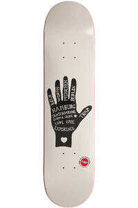 "Trap Skateboards Mit HAND Und Fuss 7.5"" Deck (white)"