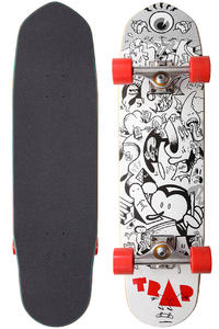 "Trap Skateboards Concrete 8.25"" Cruiser"