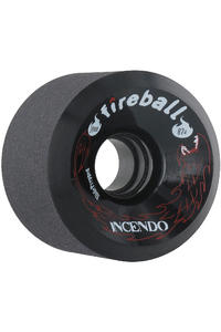 Fireball Incendo 70mm 87A Rollen 4er Pack  (black)