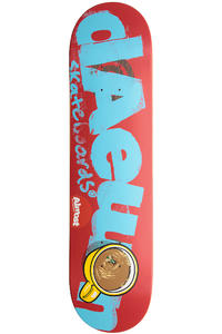 "Almost Song Logo Cuts Double Impact 7.75"" Deck (red)"