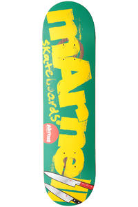 Almost Marnell Logo Cuts Double Impact 8&quot; Deck (green)