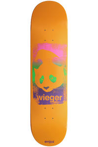 "Enjoi Wieger Printhead 7.875"" Deck (orange)"