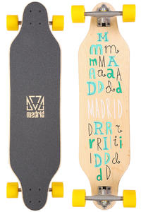 Madrid Weezer Scramble 36&quot; (91,4cm) Komplett-Longboard