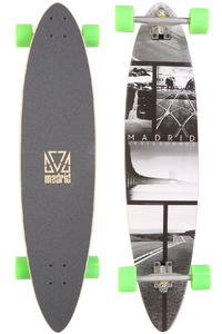 "Madrid Blunt Collage 38"" (96,5cm) Komplett-Longboard"