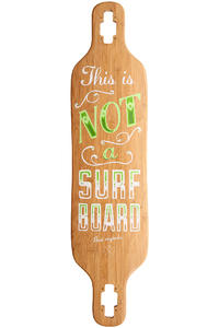 Madrid Dream T.I.N.A. Surfboard Bamboo 39&quot; (99cm) Longboard Deck